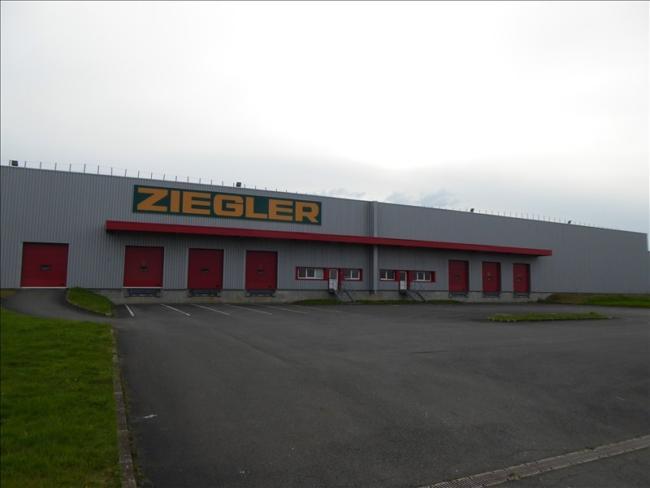 Entrepôt logistique LE MANS